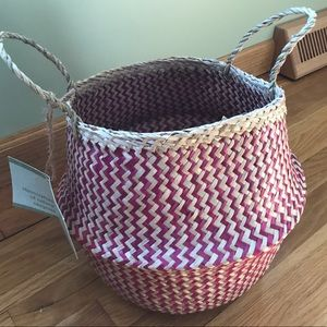 💕💕💕 Handcrafted Seagrass Basket 💕💕💕